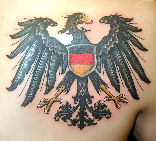 Best German Eagle Tattoo Idea