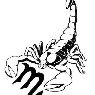 Scorpion Black Tattoo