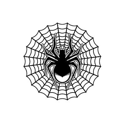Spider Web Tattoo Design