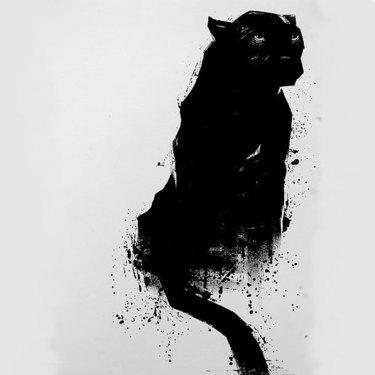 Tattoo Design of Black Panther Tattoo
