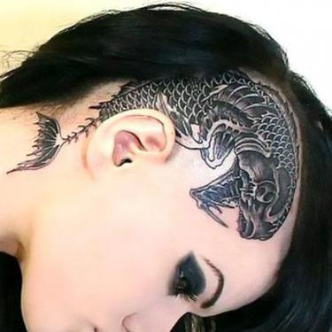 Best Head Tattoo