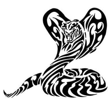Tribal Cobra Tattoo