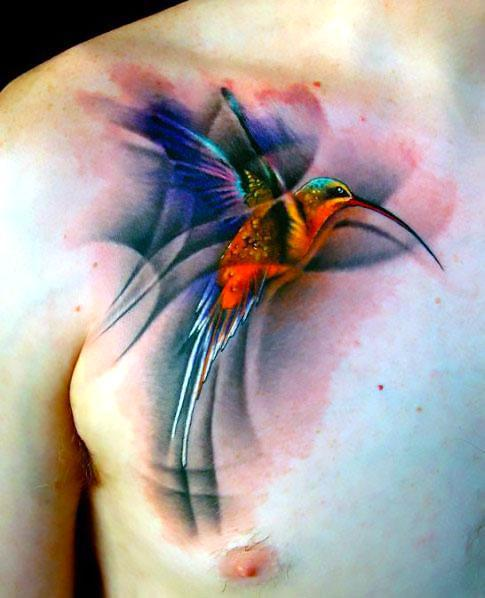 Best Hummingbird Tattoo Idea