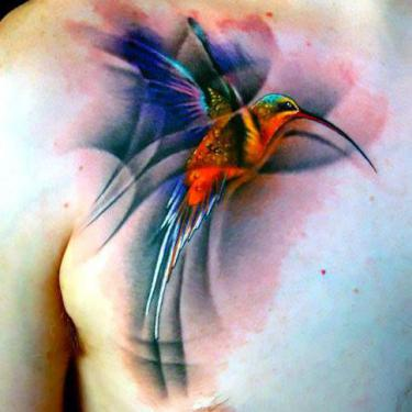 Best Hummingbird Tattoo