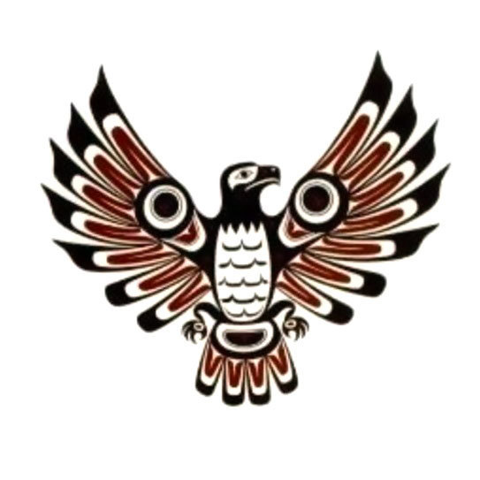 Aztec Eagle Tattoo Design