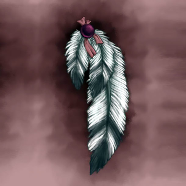 Beautiful Indian Feather Tattoo Design