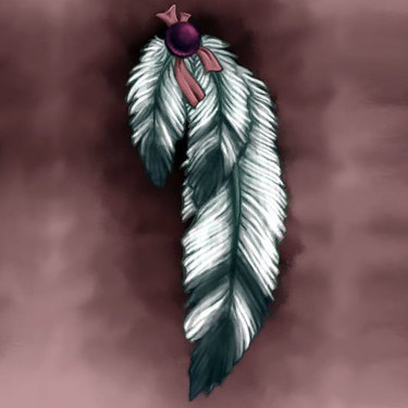 Beautiful Indian Feather Tattoo