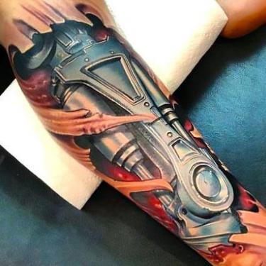 Best Leg Tattoo