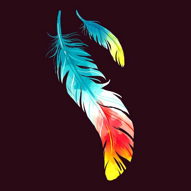 Best Feather Tattoo Design