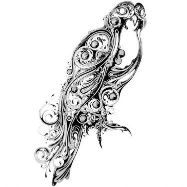 Best Hawk Tattoo