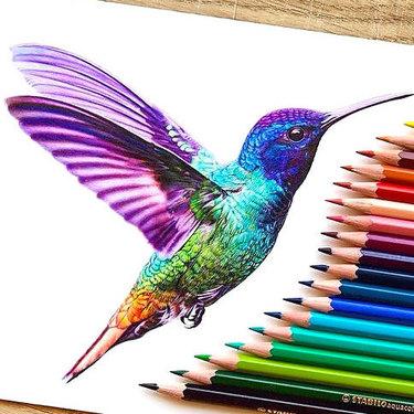 Best Hummingbird Tattoo