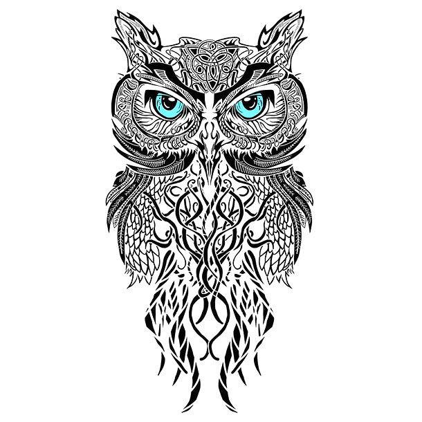 Best Owl Tattoo Design