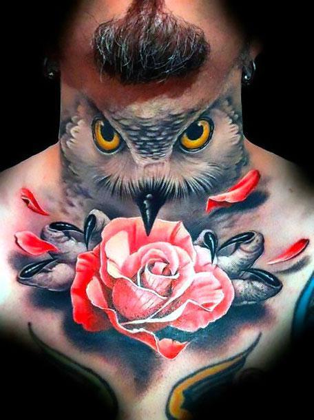 Best Neck Tattoo Idea