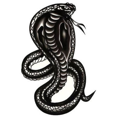 Black Cobra Tattoo