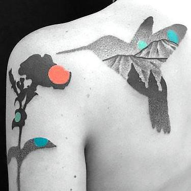 Best Original Hummingbird Tattoo