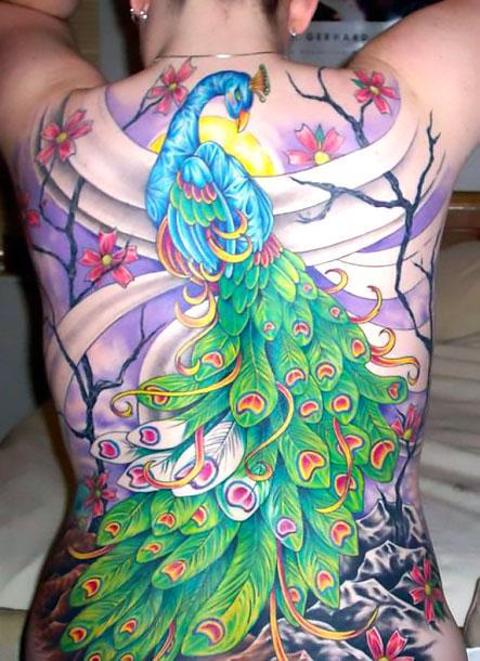 Best Peacock Tattoo Idea