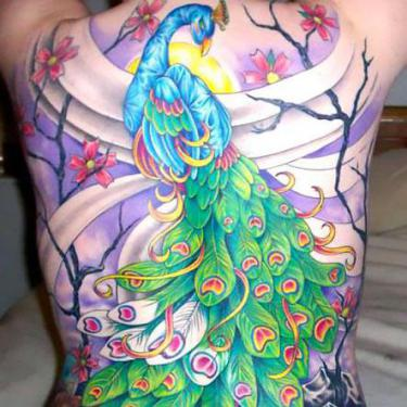 Best Peacock Tattoo