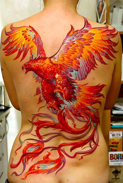 Best Phoenix Tattoo Tattoo Idea