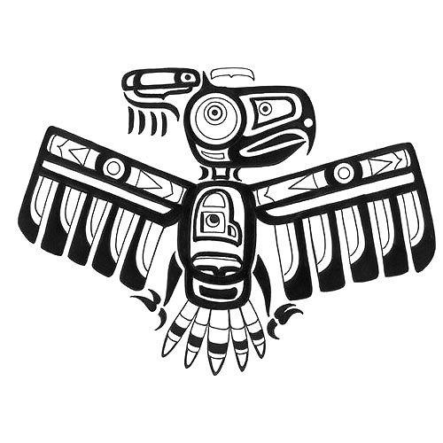 Cool Thunderbird Tattoo Design