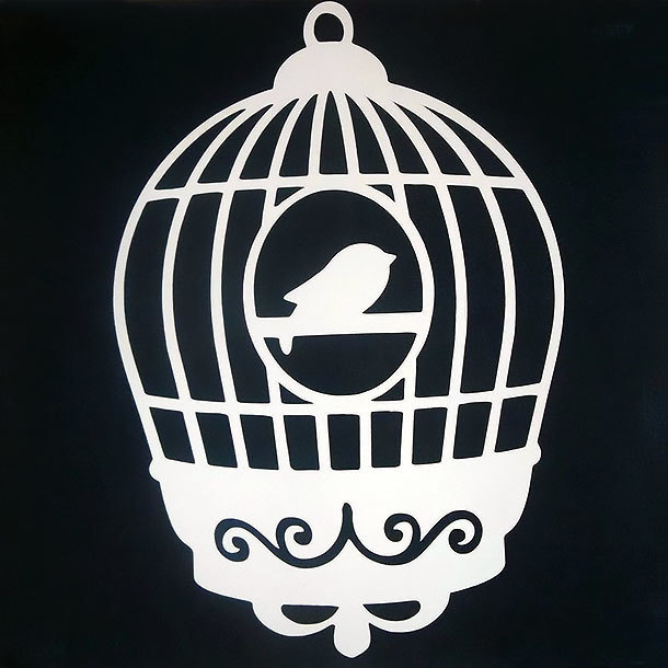 Small Birdcage Tattoo Design