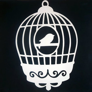 Small Birdcage Tattoo