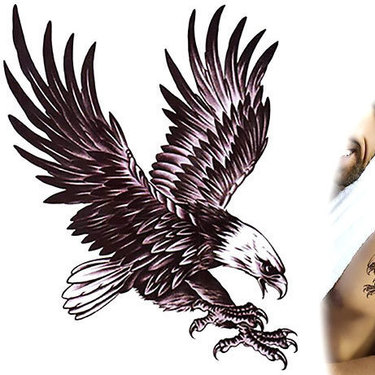 Diving Eagle Tattoo