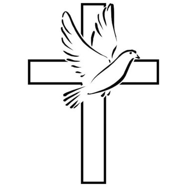 Dove Cross Tattoo