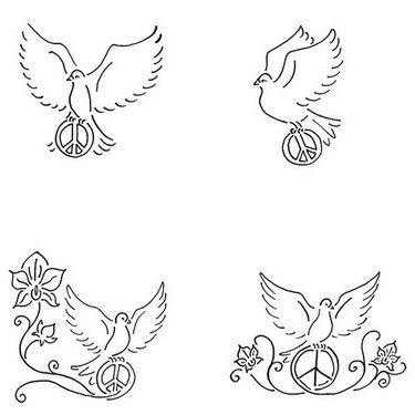 Dove Peace Tattoo