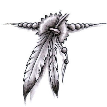 Feather Band Tattoo