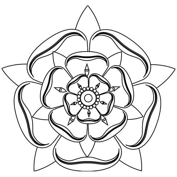 Fine Line Mandala Tattoo Design