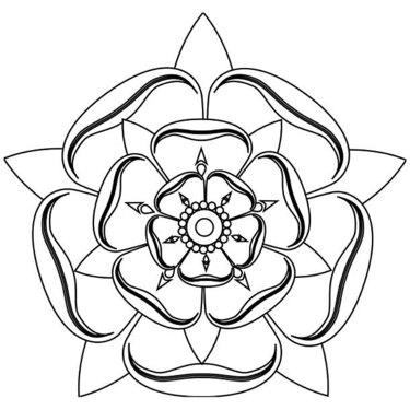 Fine Line Mandala Tattoo