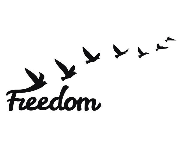 Freedom Birds Tattoo Design
