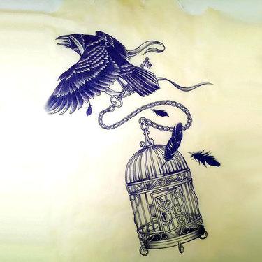 Stolen Birdcage Tattoo