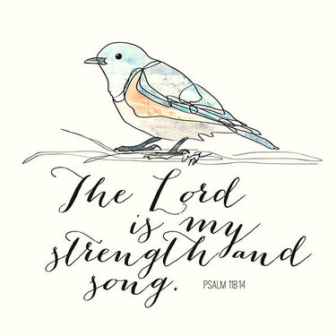 The Lord Is My Strength and Song Tattoo