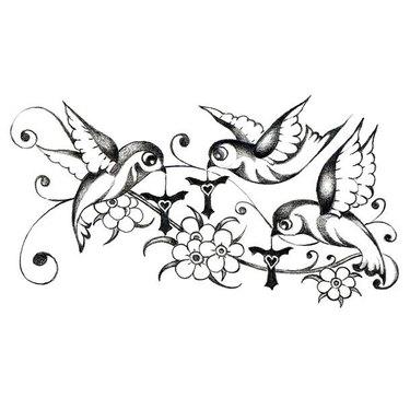Three Little Birds Tattoo