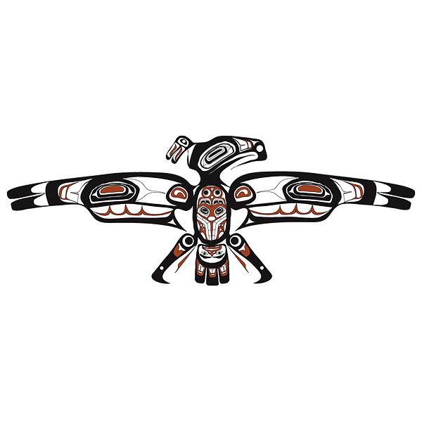 Thunderbird Tattoo Design