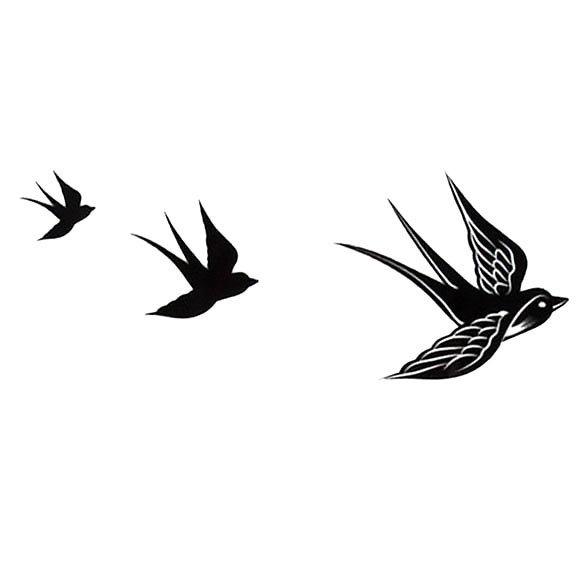 Little Bird Tattoo Design