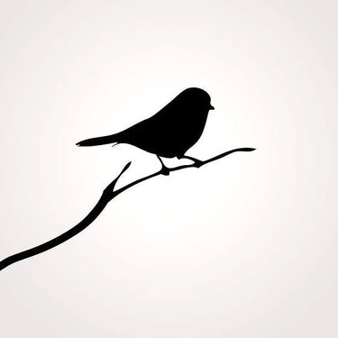 Mockingbird Silhouette Tattoo
