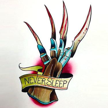 Never Sleep Tattoo