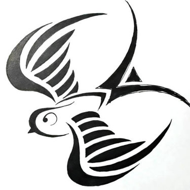 Tribal Swallow Tattoo