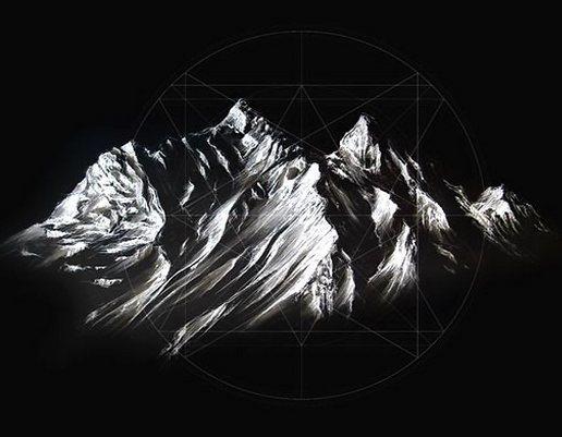 White Mountain Tattoo Design