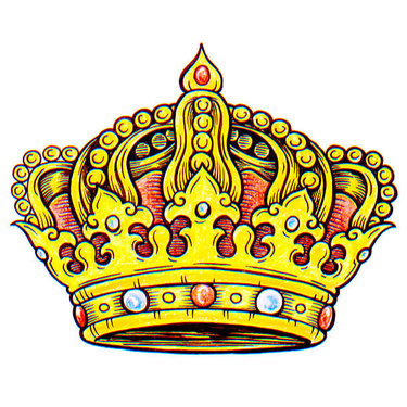 Yellow Crown Tattoo