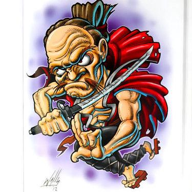 Old Samurai Tattoo