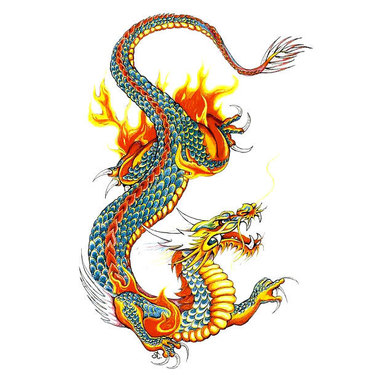 Oriental Dragon Tattoo
