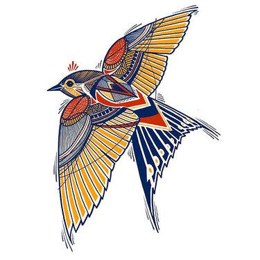 Original Sparrow Tattoo