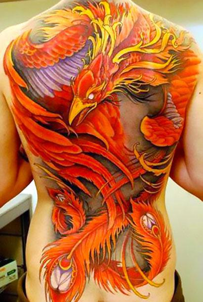 Big Phoenix Tattoo Idea