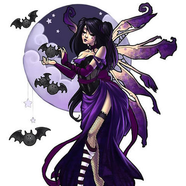 Purple Fairy Tattoo