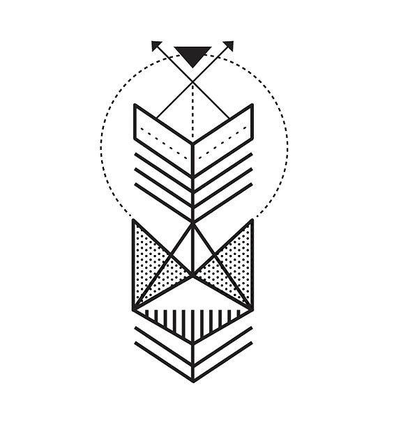 Simple Fine Line Tattoo Design
