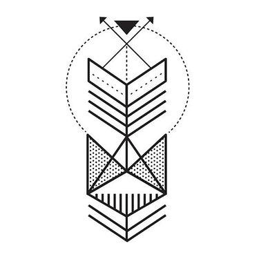 Simple Fine Line Tattoo