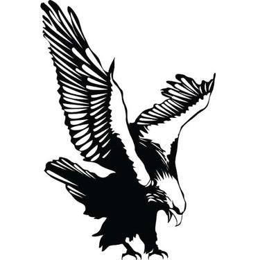 Perching Eagle Tattoo